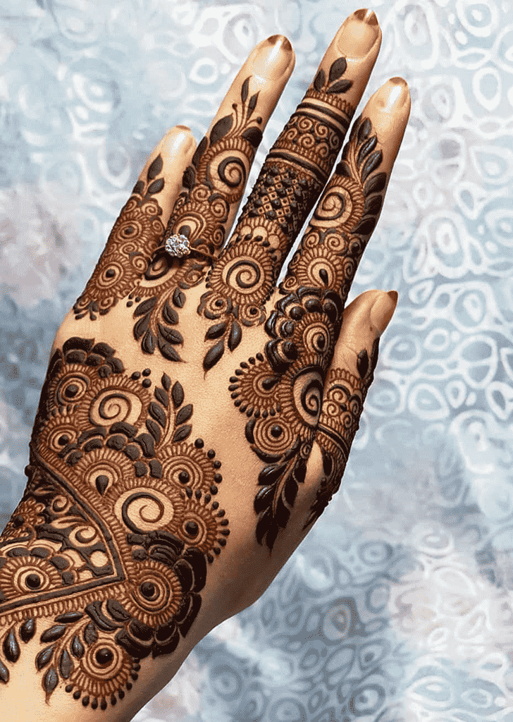 Charming Vancouver Henna Design