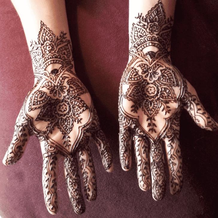 Adorable Vat Purnima Henna Design