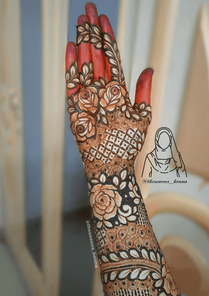 Appealing Vat Purnima Henna Design
