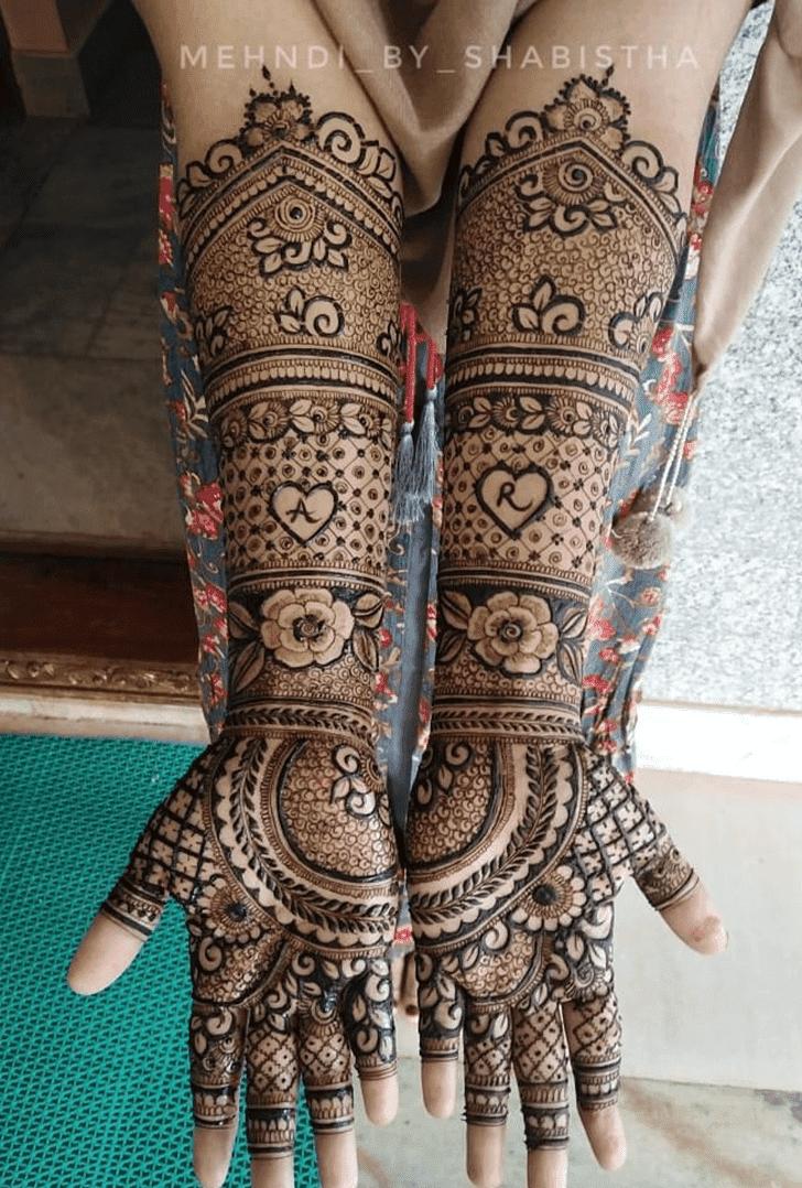 Delightful Vat Purnima Henna Design