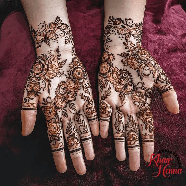 Enticing Vat Purnima Henna Design