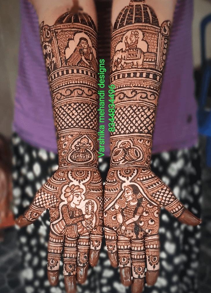 Gorgeous Vat Purnima Henna Design