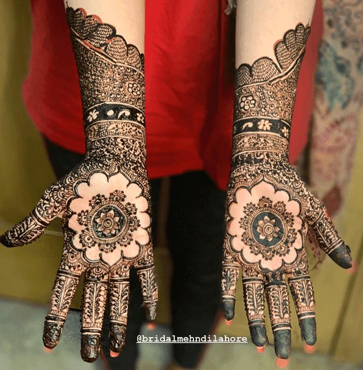 Pleasing Vat Purnima Henna Design