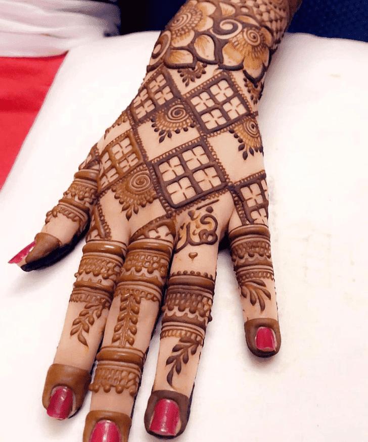 Radiant Vat Purnima Henna Design