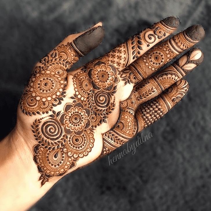 Splendid Vat Purnima Henna Design