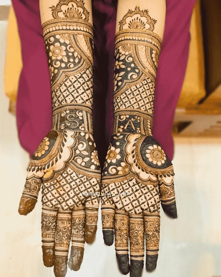 Alluring Vijaya Ekadashi Henna Design