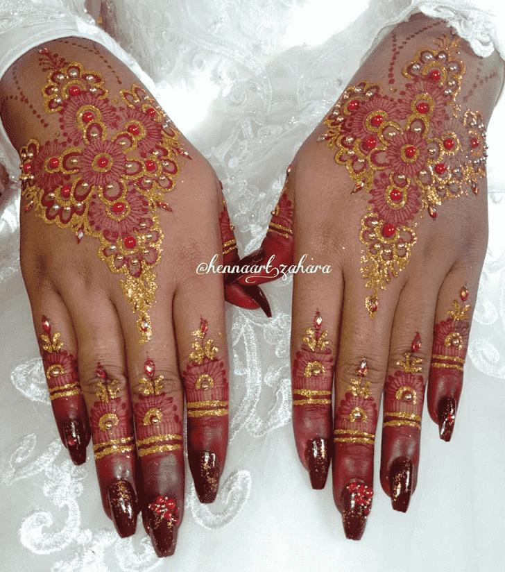 Beauteous Vijaya Ekadashi Henna Design