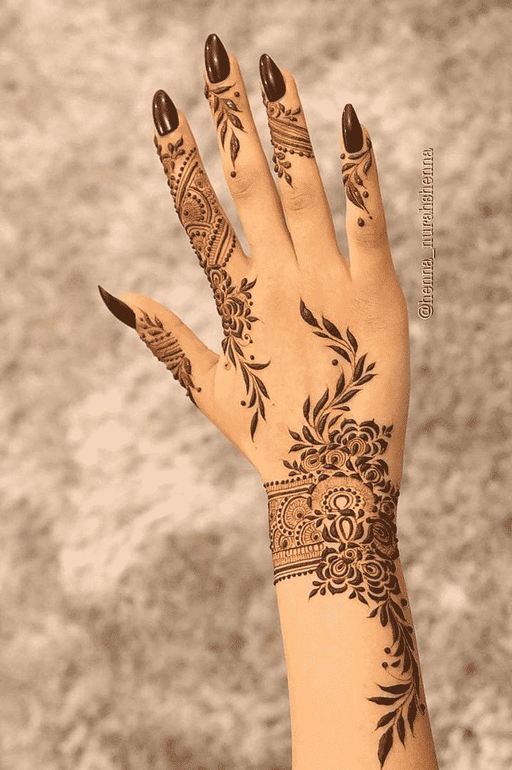 Charming Vijaya Ekadashi Henna Design