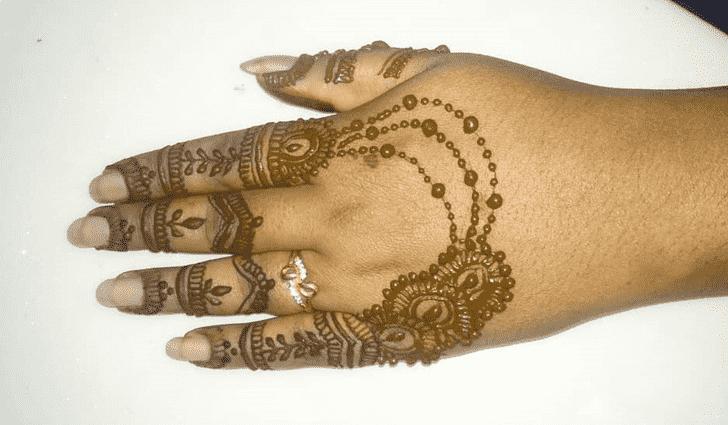 Admirable Vijayawada Mehndi Design