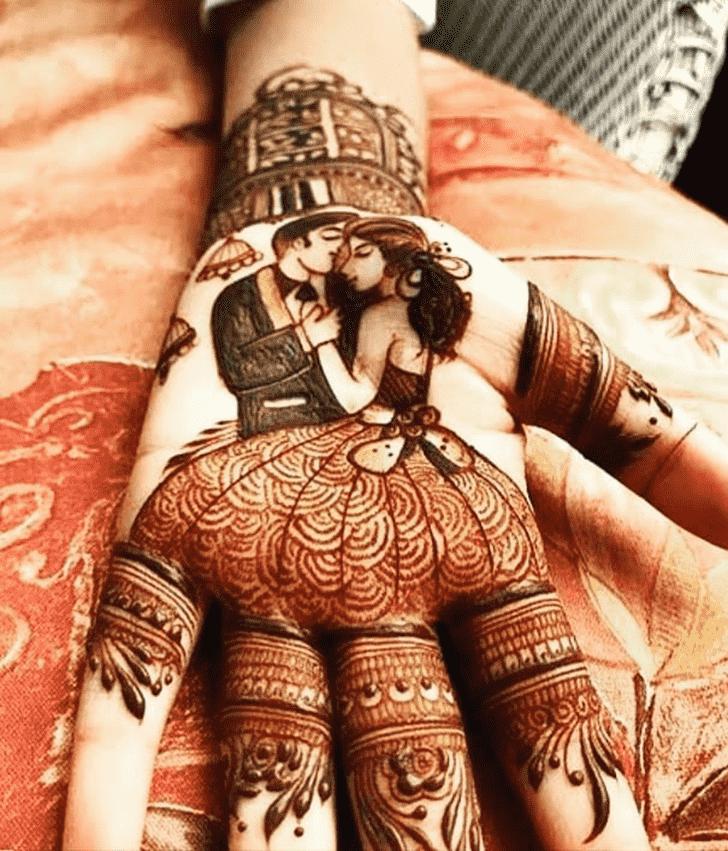 Adorable Vijayawada Henna Design
