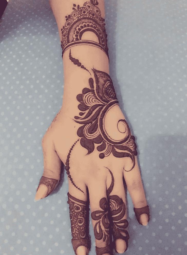 Appealing Vijayawada Henna Design