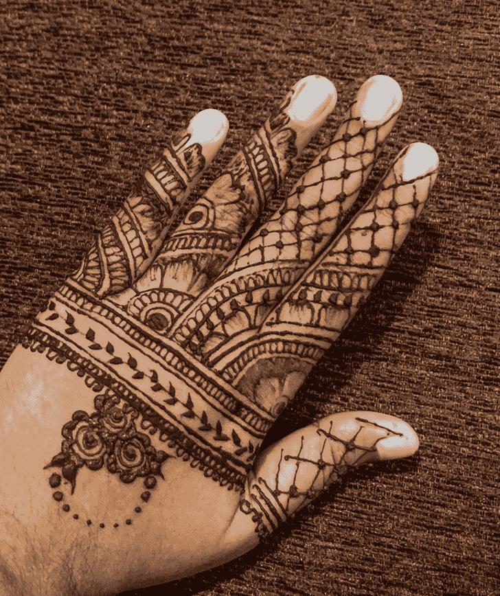 Charming Vijayawada Henna Design