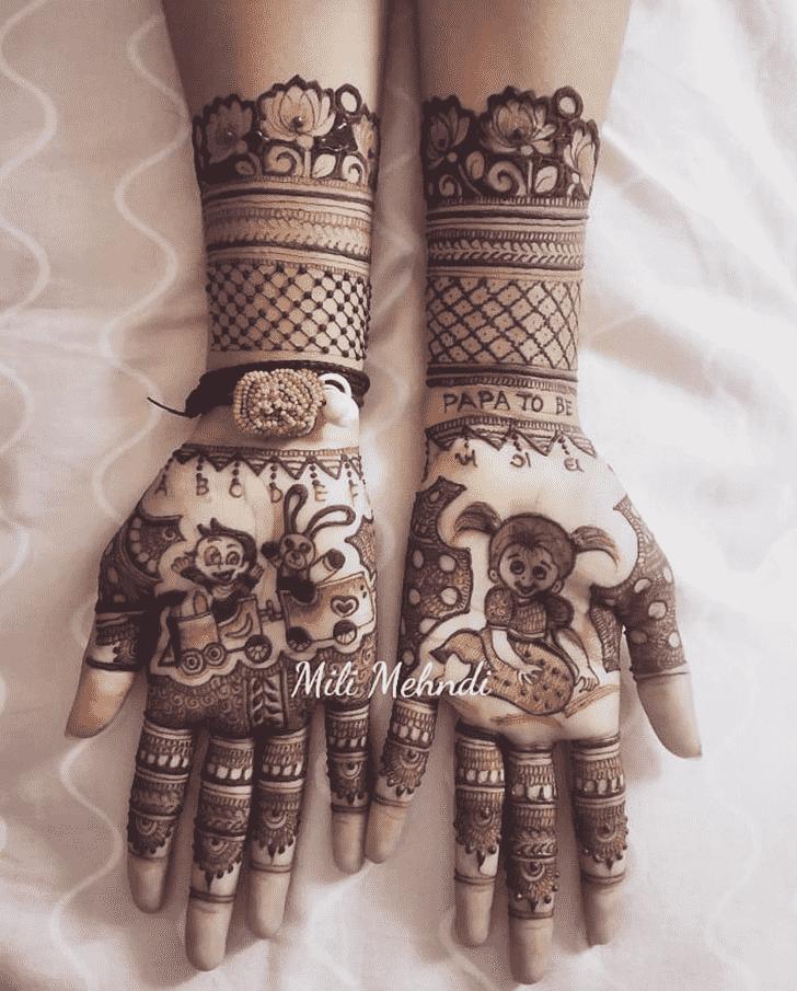 Classy Vijayawada Henna Design