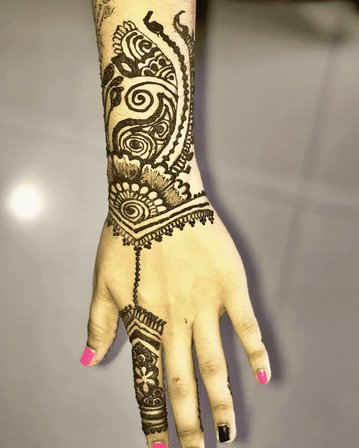 Excellent Western Henna Design