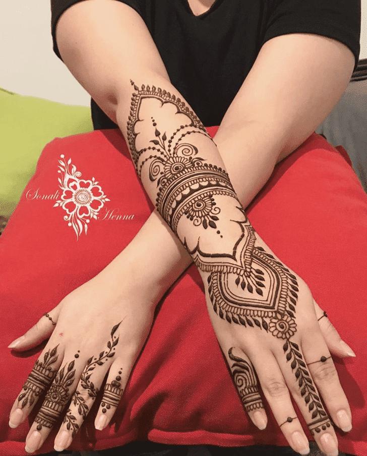 Fair Western Henna Design