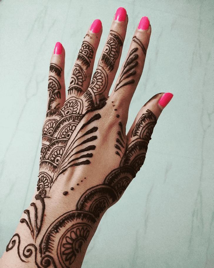 Grand Western Henna Design