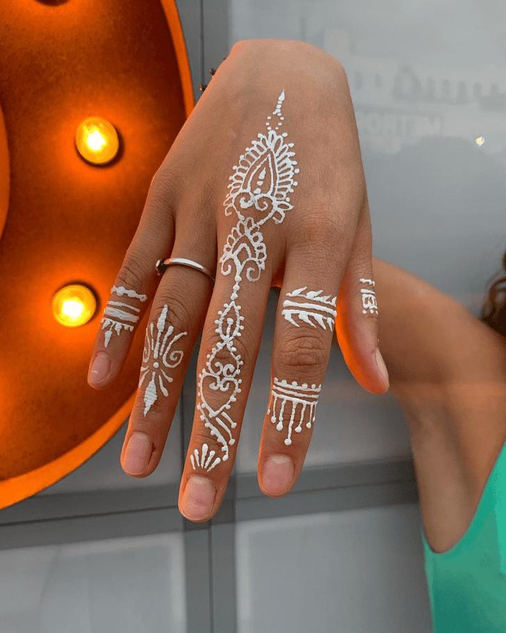 Web White Mehndi Henna