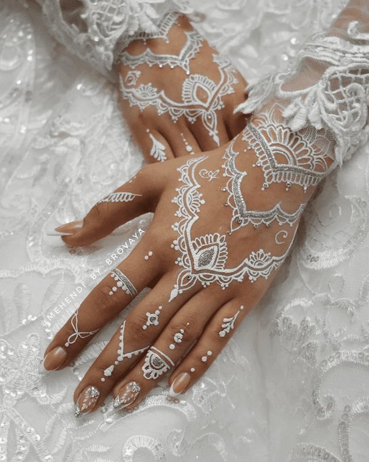 White Mehndi Henna