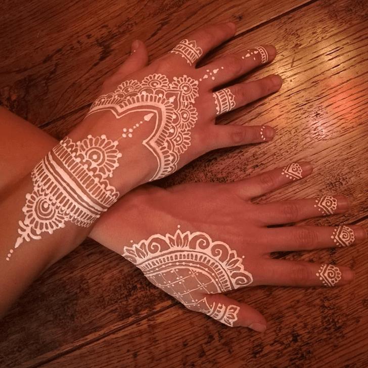 Indian White Mehndi