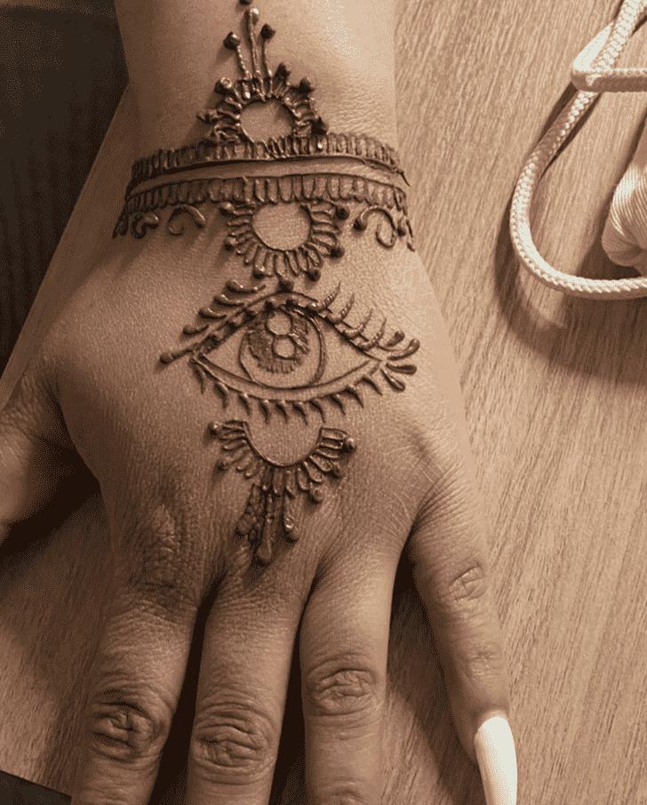 Adorable Women Henna design