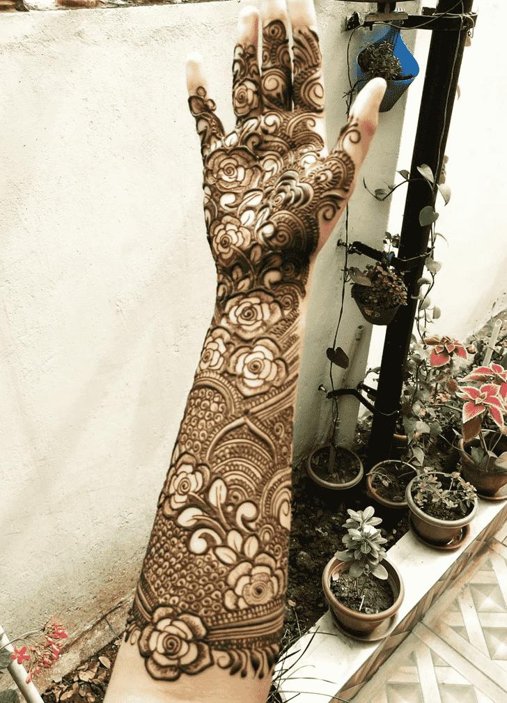 Angelic Women Henna design