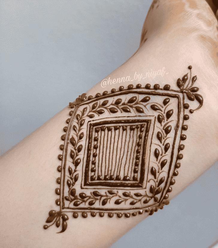 Captivating Wrist Henna design
