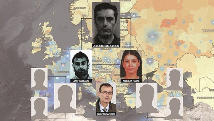 Arrested Iranian diplomat runs a bigger network of spies in Europe, authorities believe