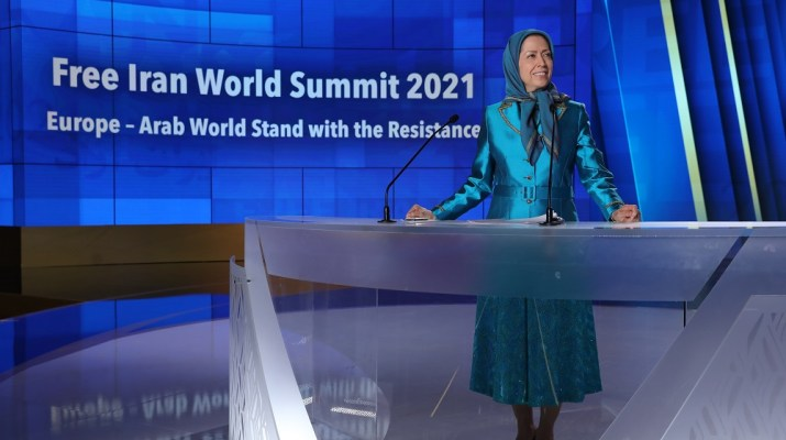 Second Day of The Free Iran World Summit 2021, Europe – Arab World Stand with the Resistance