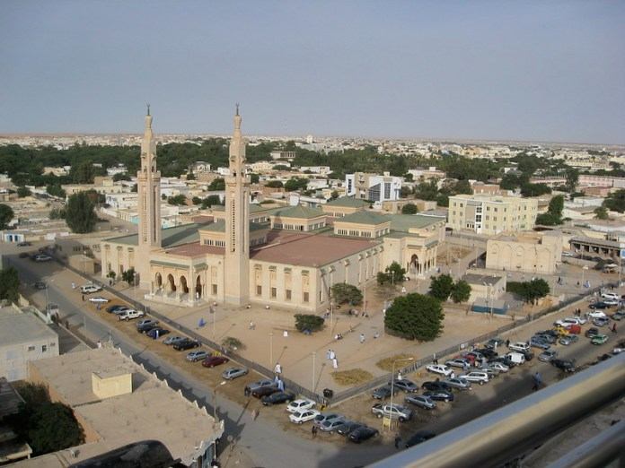 Grand Mosque in Nouakchott in Mauritania