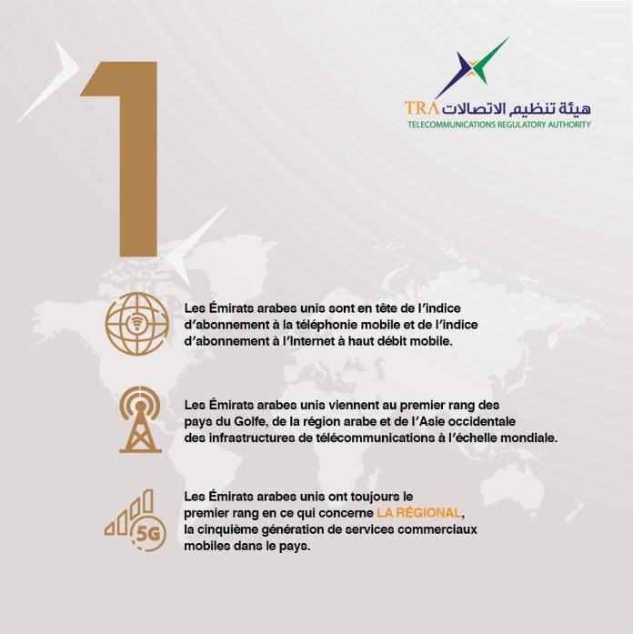 Les télécommunications aux Émirats Arabes Unis : de grands progrès en 2020