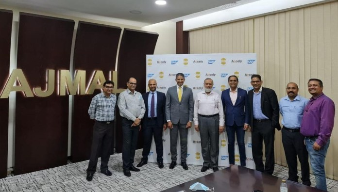 Ajmal Group collaboration with Accely