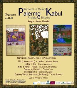 Palermo Kabul locandina