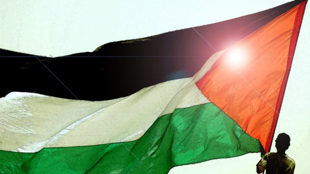 Bandiera palestinese - Palestina