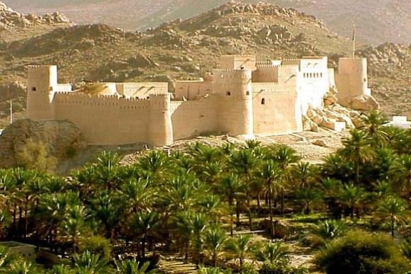 Via del franchincenso, Oman