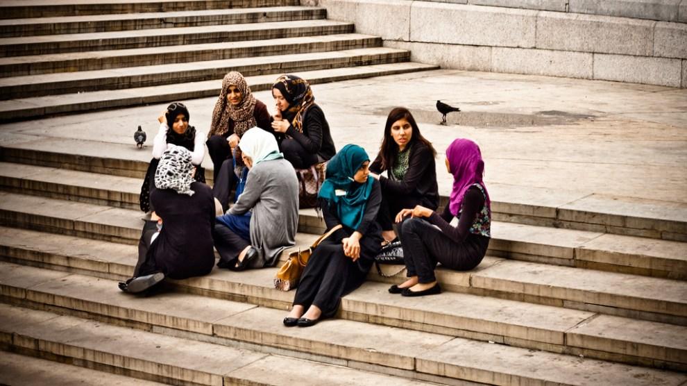 donne musulmane hijab