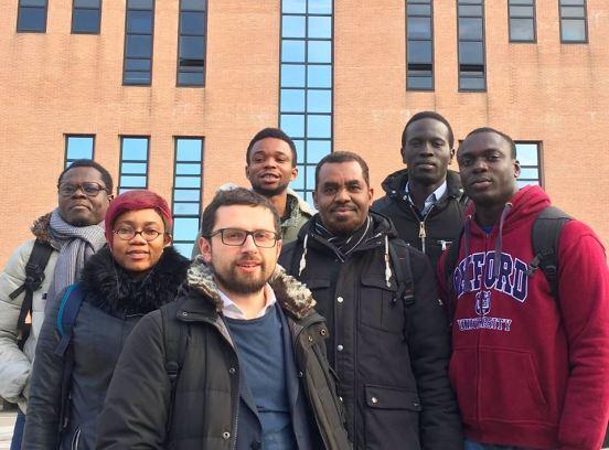 Studenti University for Refugees, Regione Lombardia, con prof. D'Aloia