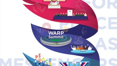 Photo of قمة السلام العالمي للأديان تجتمع بكوريا 17 سبتمبر القادم