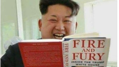 "Photo of رئيس كوريا الشمالية يشمت في ترامب بعد كتاب ""نار وغضب"""