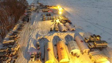 Photo of كثافة الثلوج تعيق التحقيق في تحطم طائرة الركاب الروسية قرب موسكو