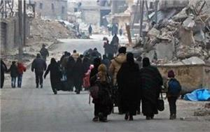 Photo of 76 مدنيًا يغادرون الغوطة الشرقية والأمم المتحدة تتوقع إجلاء آخرين