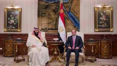 Photo of الرئيس المصري يستقبل ولي عهد السعودية في القاهرة ويوقعان اتفاقيات تعاون مشترك