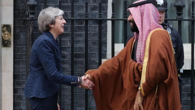"Photo of ولي عهد السعودية يختتم زيارته لبريطانيا ويتفق على شراء 48 طائرة ""يوروفايتر تايفون"""
