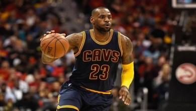 "Photo of لاعب كرة السلة ليبرون جيمس يحقق أرقاما قياسية في الـ ""NBA"""