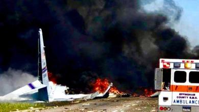 Photo of نهاية مأساوية طائرة عسكرية أمريكية .. تحطمت في آخر رحلة لها