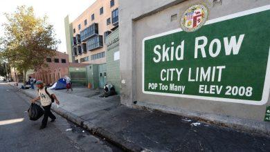 """Photo of في قلب """"سكيد رو"""".. عاصمة المشردين في لوس أنجلوس"""