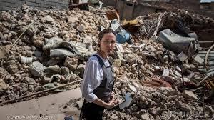 Photo of أنجلينا جولي من الموصل : أسوأ دمار رأيته أثناء عملي بالأمم المتحدة
