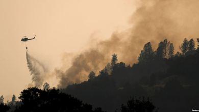 Photo of إجلاء سكان مدينتين بسبب حرائق كاليفورنيا