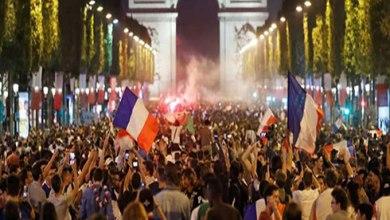 Photo of الجماهير الفرنسية تحتفل بوصول فريقها الى نهائي المونديال