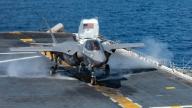 Photo of تحطم طائرة شبح إف-35 ..أغلى طائرة عسكرية في العالم
