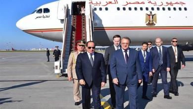 Photo of الرئيس المصري يواصل زيارته لروسيا و يلتقي برئيس وزرائها